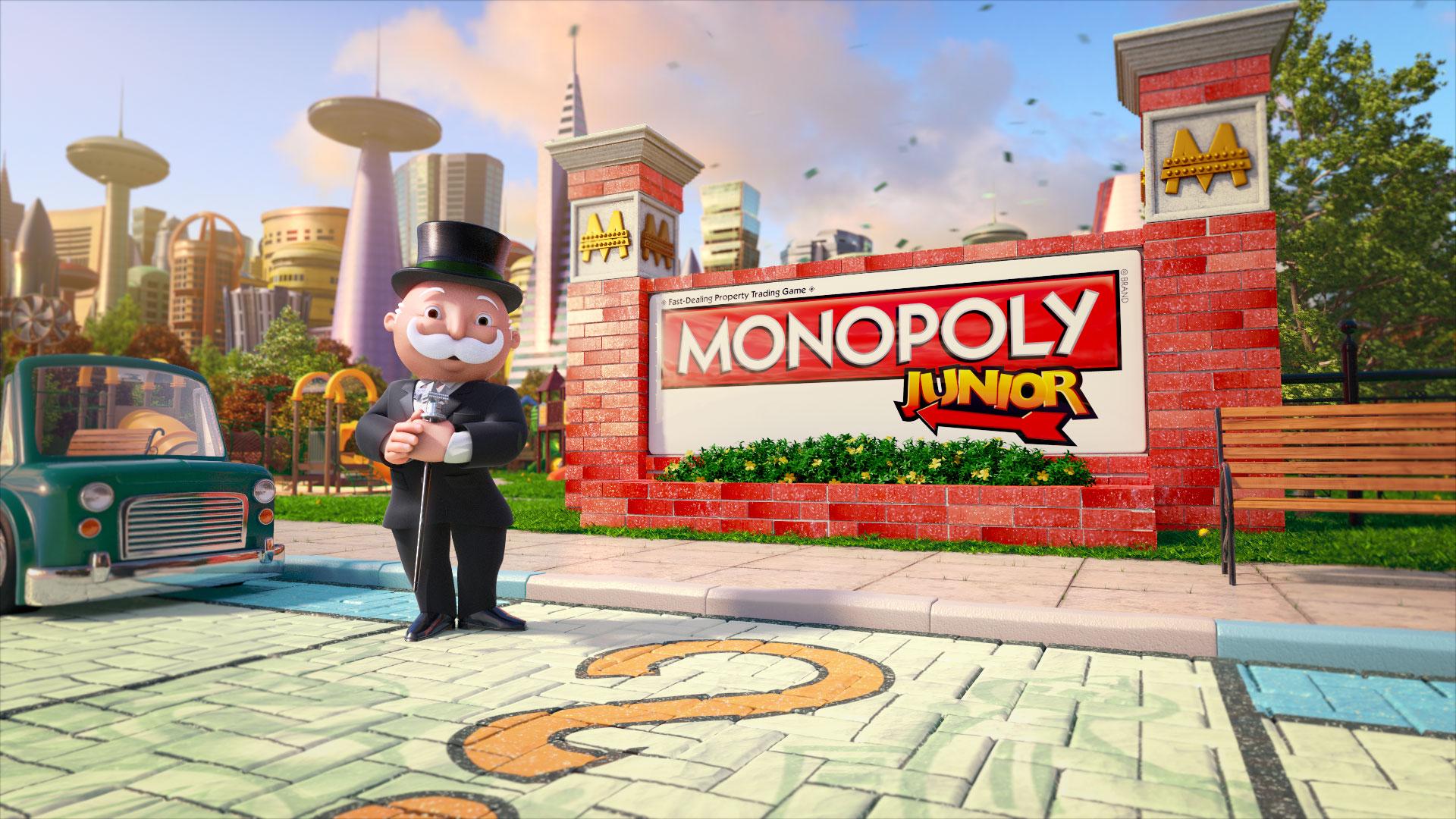 Monopoly Junior Rummelplatz